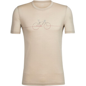 Icebreaker Tech Lite Cadence - T-shirt manches courtes Homme - beige